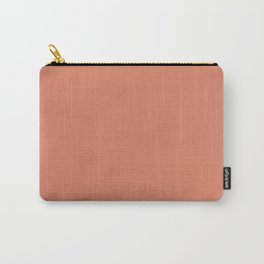 PPG Glidden Summer Sunset (Orange Dark Peach) PPG1192-6 Solid Color Carry-All Pouch