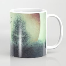 unReality - Fantastic Landscape with Red Planet Mug