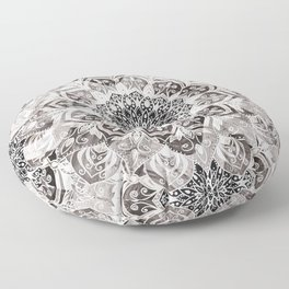 Bohemian Feelings Mandala Floor Pillow