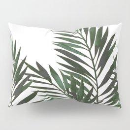 Palm Leaves Green Pillow Sham