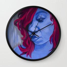 Blueberry Mary Wall Clock