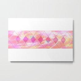 Pink magic Metal Print