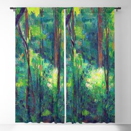 Paul Cezanne Interior of a Forest Blackout Curtain