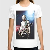 u2 T-shirts featuring U2 / Adam Clayton by JR van Kampen