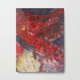 Abstract Grunge  Metal Print