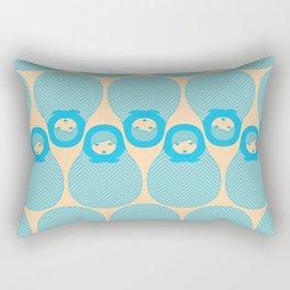 Russian Doll Pattern Rectangular Pillow