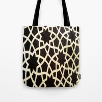 morocco Tote Bags featuring Morocco by Mirabella Market
