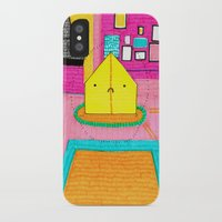 royal tenenbaums iPhone & iPod Cases featuring The Royal Tenenbaums Tent. by Alxndra Cook