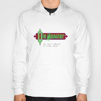 castlevania Hoodies featuring Castlevania - Die Monster. You Don't Belong In This World! by Aaron Campbell