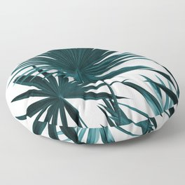 Fan Palm Leaves Jungle #1 #tropical #decor #art #society6 Floor Pillow