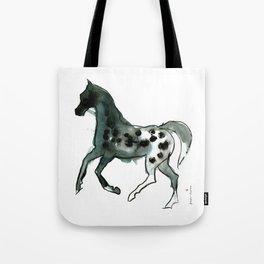 Horse (Leopard) Tote Bag