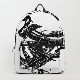 My Heart | Hearts | Valentines | The living dead Backpack