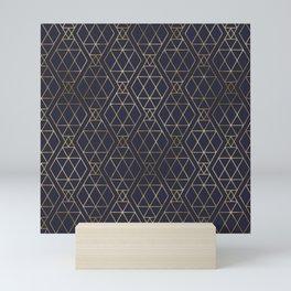 Modern Art Deco Geometric 2 Mini Art Print