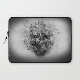 Flaming Skull Laptop Sleeve