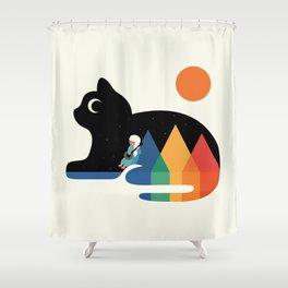 Moonlight Serenade Shower Curtain