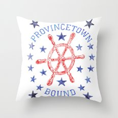 Provincetown Bound Throw Pillow