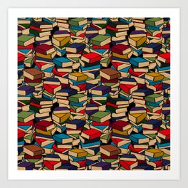 The Book Collector Art Print