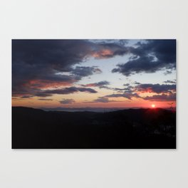 Blue Ridge Parkway Sunrise Canvas Print