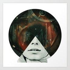Look into the stars Art Print