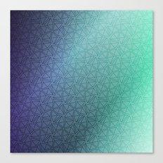 Gradient Web Canvas Print