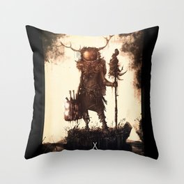 Voyager Spirits-Spirit of Wisdom Throw Pillow
