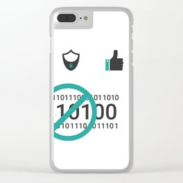 Web site Icon set Clear iPhone Case