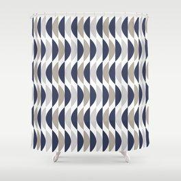 Blue Humps Shower Curtain