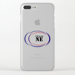 Team New England - Superbowl 2019 Clear iPhone Case
