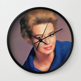 Angie Dickinson, Hollywood Legend Wall Clock