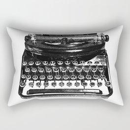 Remington Typewriter Rectangular Pillow