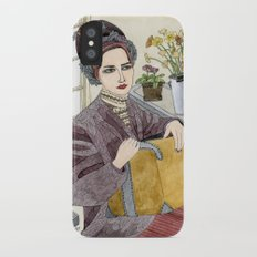 In the Flower Shop iPhone X Slim Case