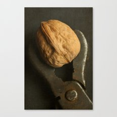 Walnut and Vintage Wrench Canvas Print