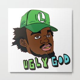 Ugly God Metal Print