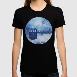 Tardis in Winterland T-shirt