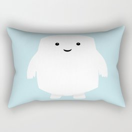 Doctor Who Adipose Rectangular Pillow