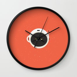 The Spaceman on Mars Wall Clock