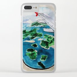 Window seat Clear iPhone Case