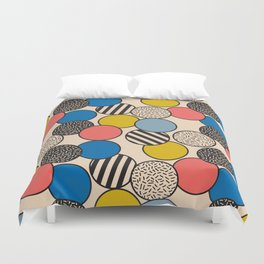 Memphis Inspired Pattern 5 Duvet Cover