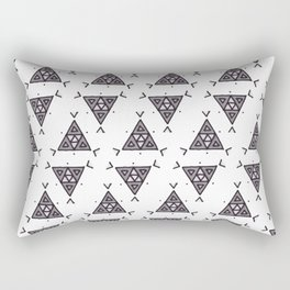 Rock Painting Rectangular Pillow