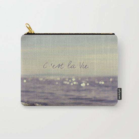 C'est la Vie Carry-All Pouch