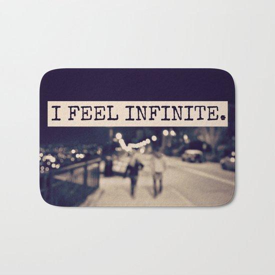 I Feel Infinite Bath Mat
