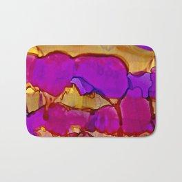 Vistas in Violet and Gold Bath Mat