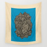 boat Wall Tapestries featuring - boat - by Magdalla Del Fresto