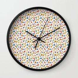 D*ck Print Wall Clock