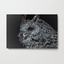 Dark Owl Metal Print