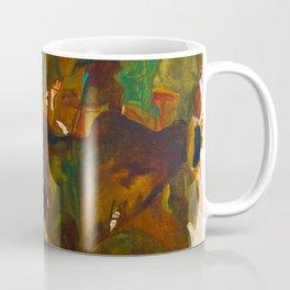 Egon Schiele Sunflowers Coffee Mug