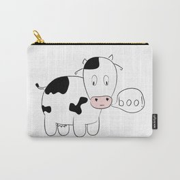 SOLD! Scary Cow - Inspired by a True Incident! Carry-All Pouch