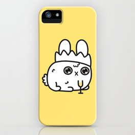 New Year bunny iPhone Case
