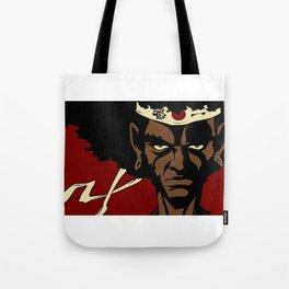Afrosamurai Tote Bag