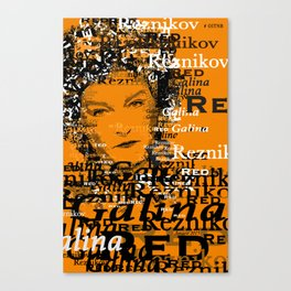 "Galina ""Red"" Reznikov (Kate Mulgrew)-OITNB Canvas Print"